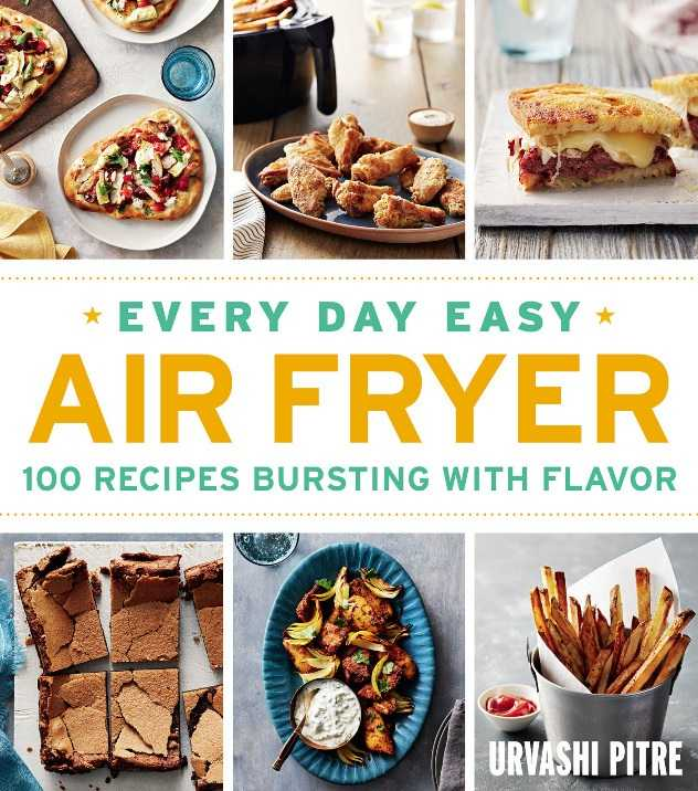 We love this cook book, it's our top pick for air fryer owners.