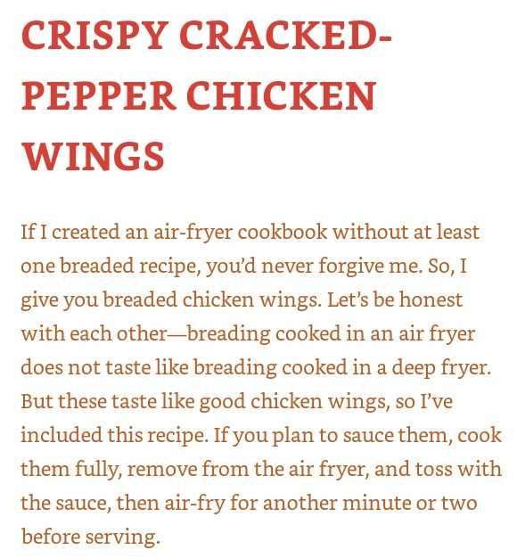 We love chicken wings in our household, so we had to try out the recipe from every day easy air fryer.