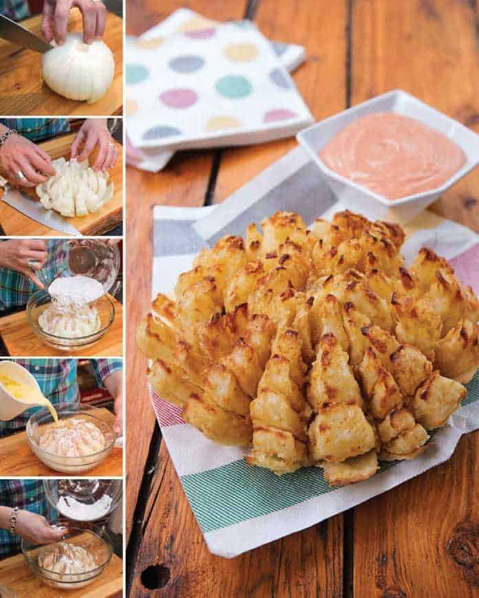 the blooming onion recipe from the cookbook.