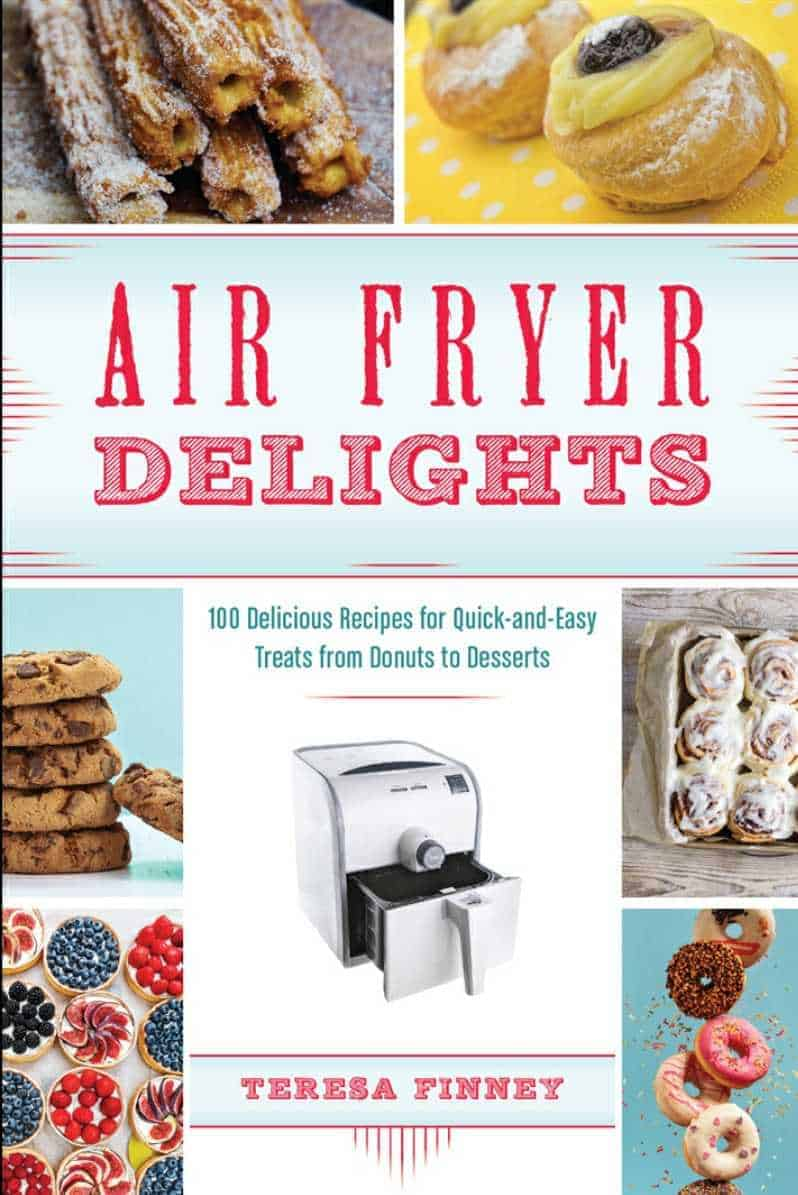 A great air fryer cookbook for people that want to bake and make cakes!!