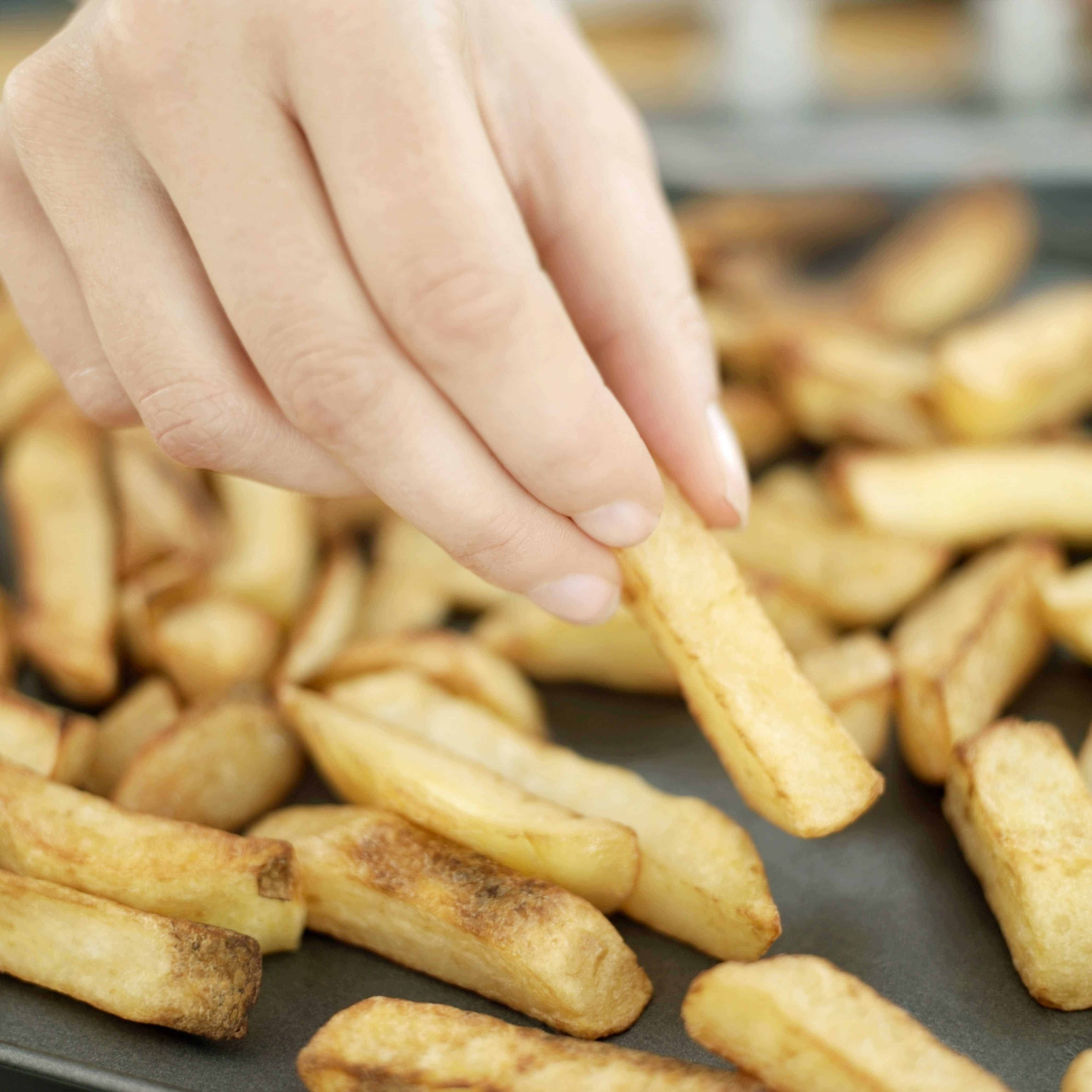 when done right, air fried chips or french fries are amazing.