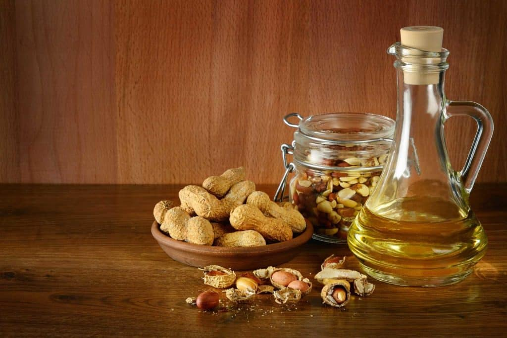 peanut oil is not exactly a healthy oil to use in your air fryer, although it does have a high smoke point.