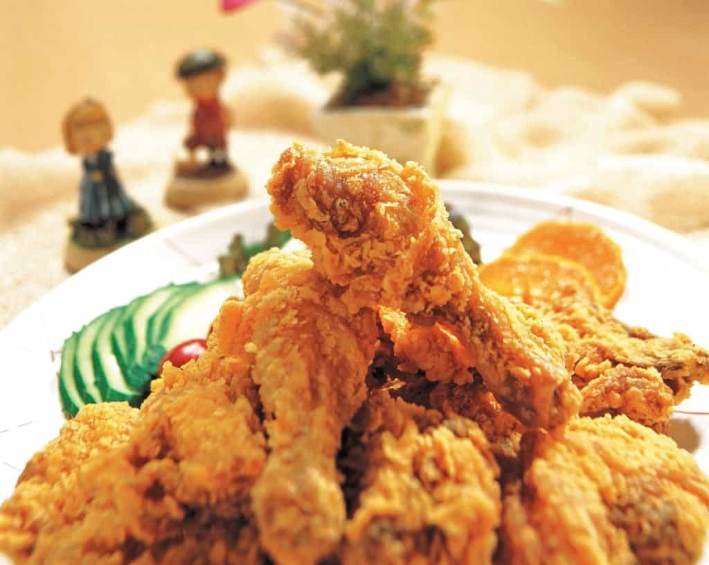 fried chicken, can it be cooked in an air fryer in a healthier way?