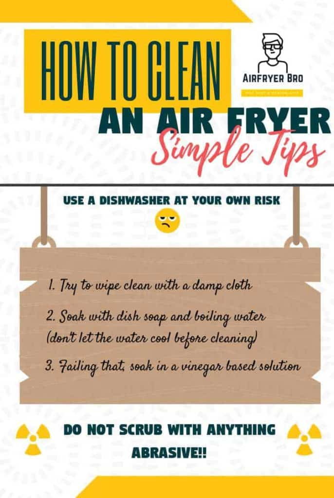 our simple tips on how to properly clean an air fryer