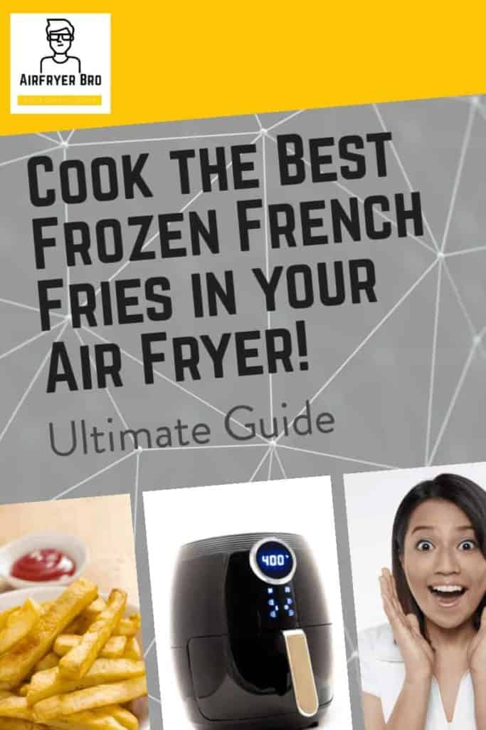 how to cook awesome french fries in your air fryer? Read our air fryer frozen french fries guide!
