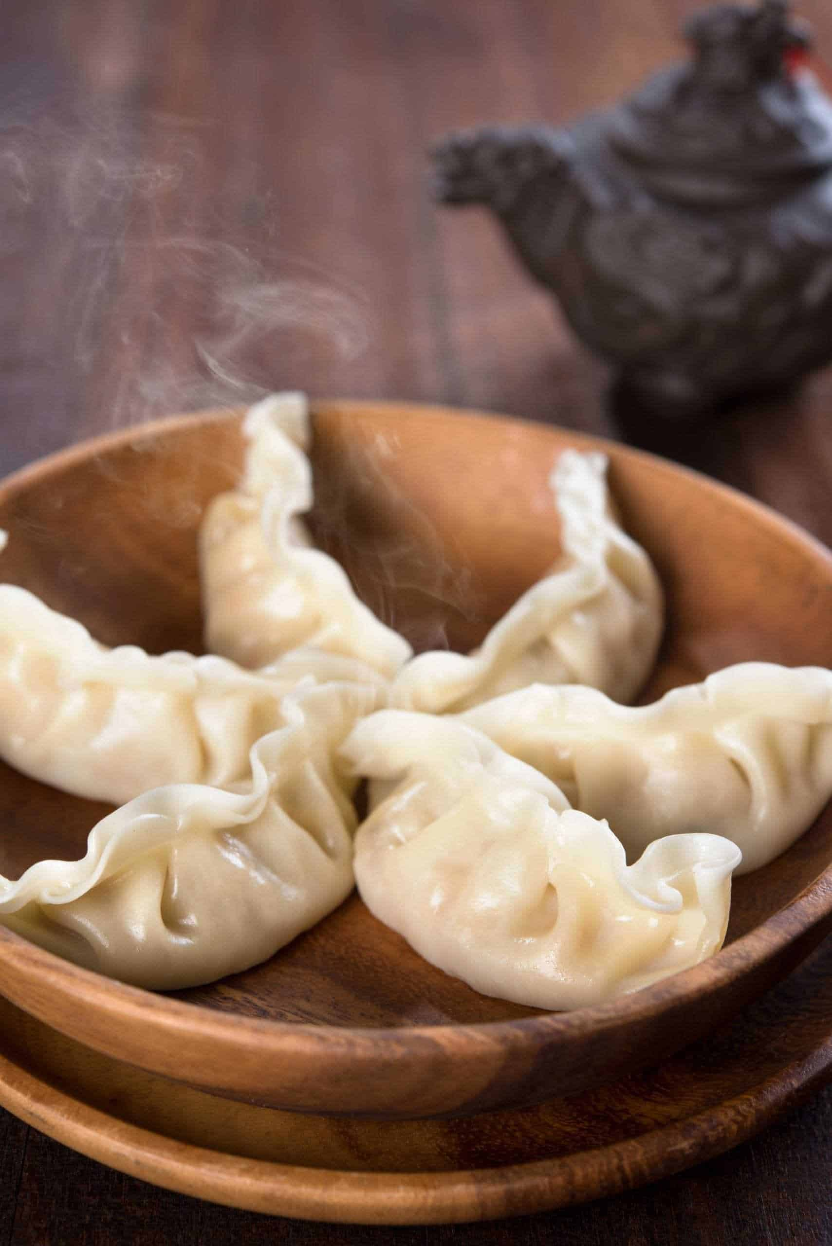 Can you recreate steamed dumplings in an air fryer?