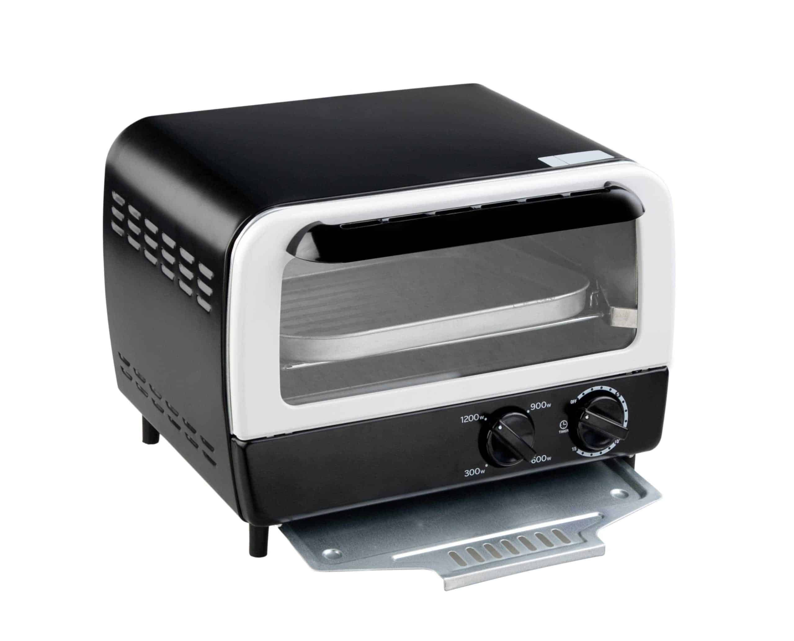 toaster ovens have little insulation