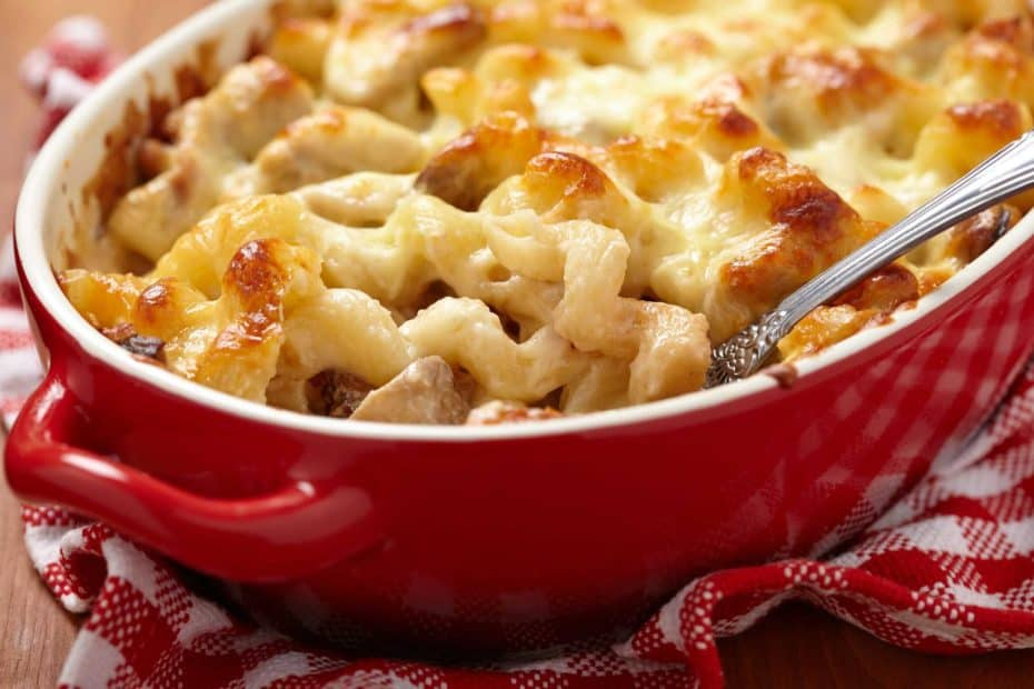 this is british style mac and cheese