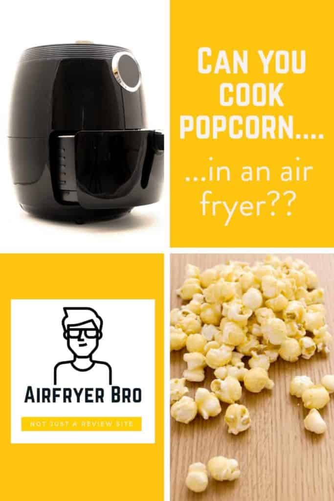 air fried popcorn...is it possible?