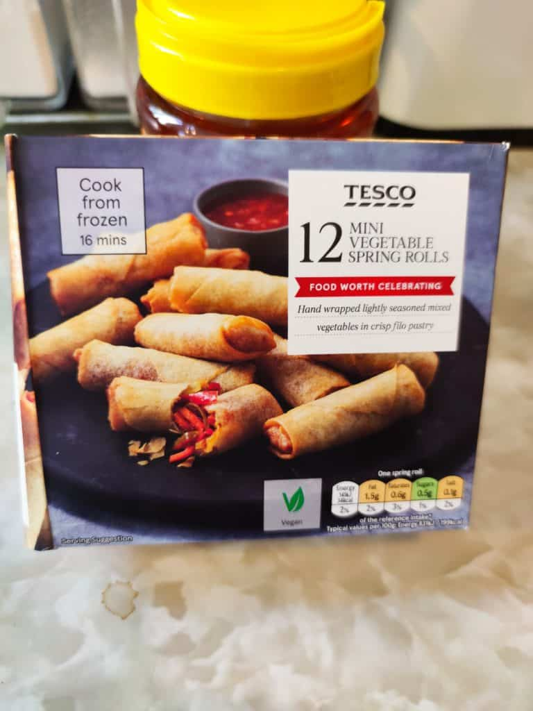 Can you cook frozen spring rolls in an air fryer? Let's find out together.