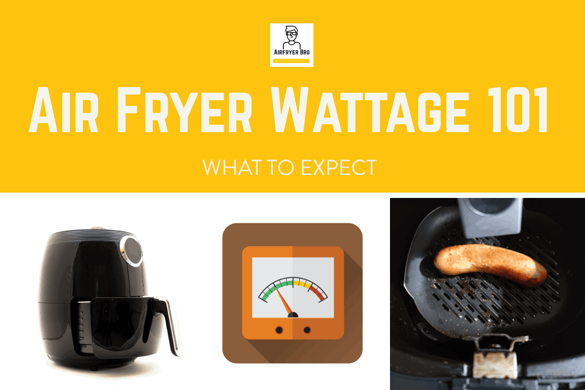 Why is air fryer wattage important?