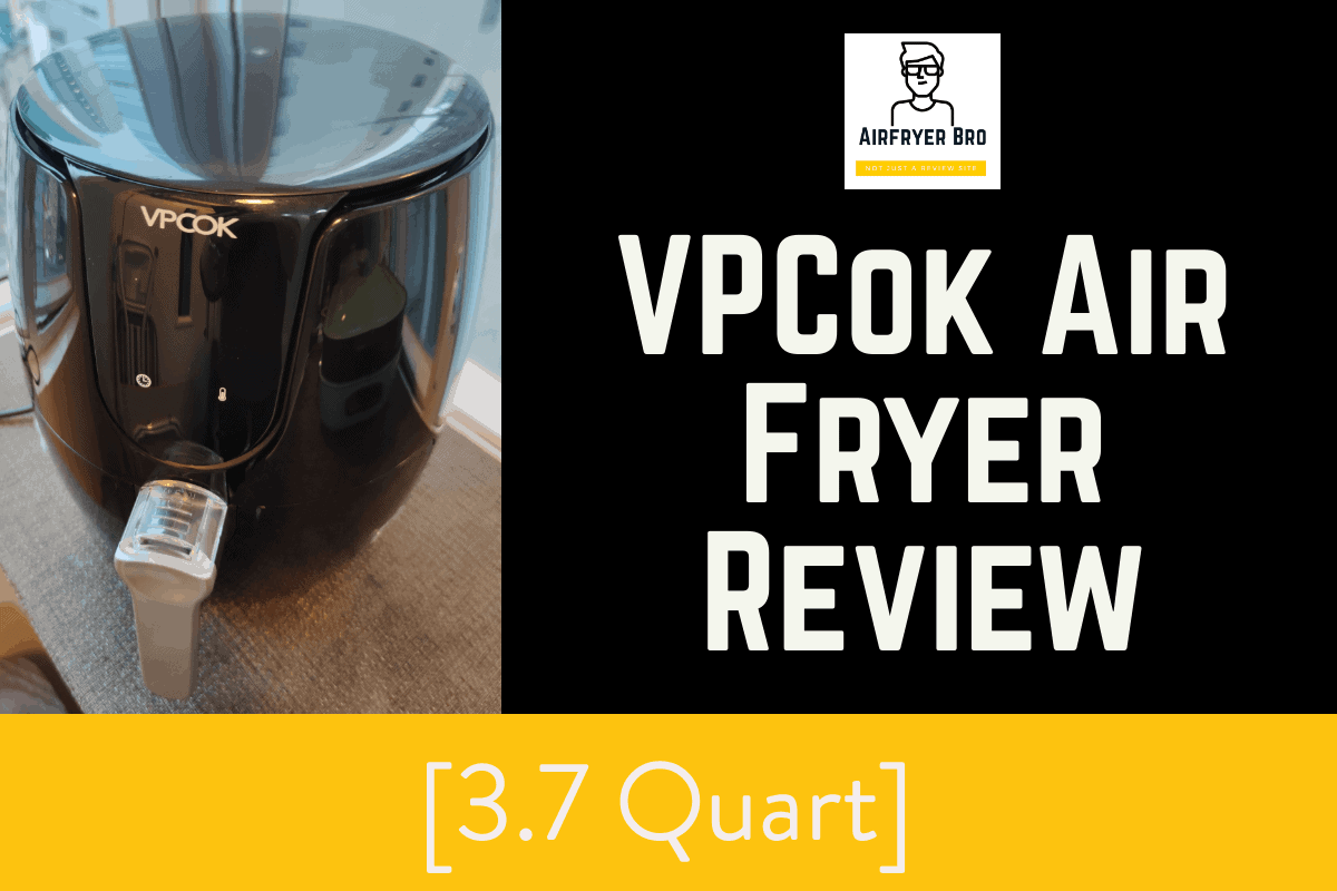 vpcok air fryer review