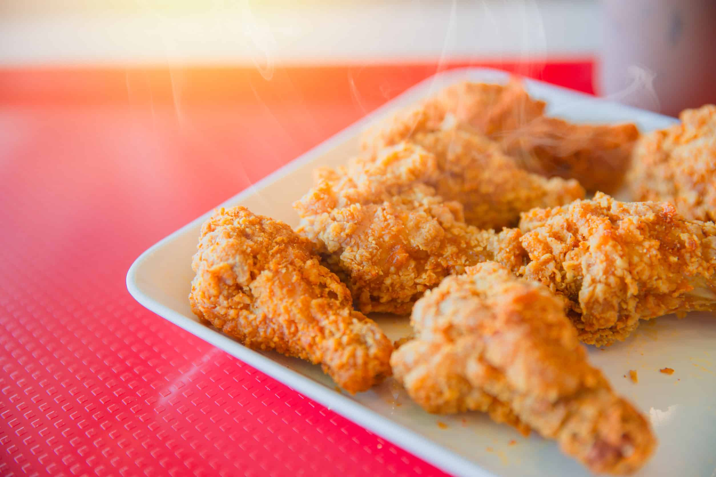 how to reheat fried chicken in an air fryer?